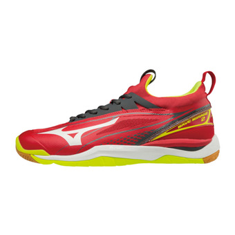 Zapatillas de balonmano hombre WAVE MIRAGE 2 red/white/yellow