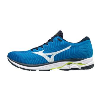 Zapatillas de running hombre WAVEKNIT R2 bblue/white/safetyyellow