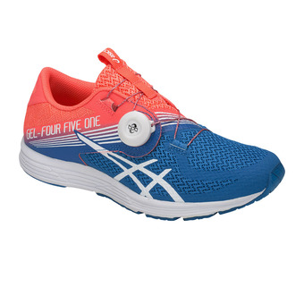 Zapatillas de running mujer GEL-451 flash coral/white/directoire blue
