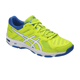 Zapatillas de voleibol hombre GEL-Beyond 5 energy green/white/electric blue