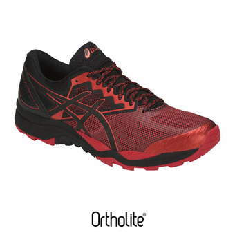 Zapatillas de trail hombre GEL-FUJITRABUCO 6 black/fiery red/black