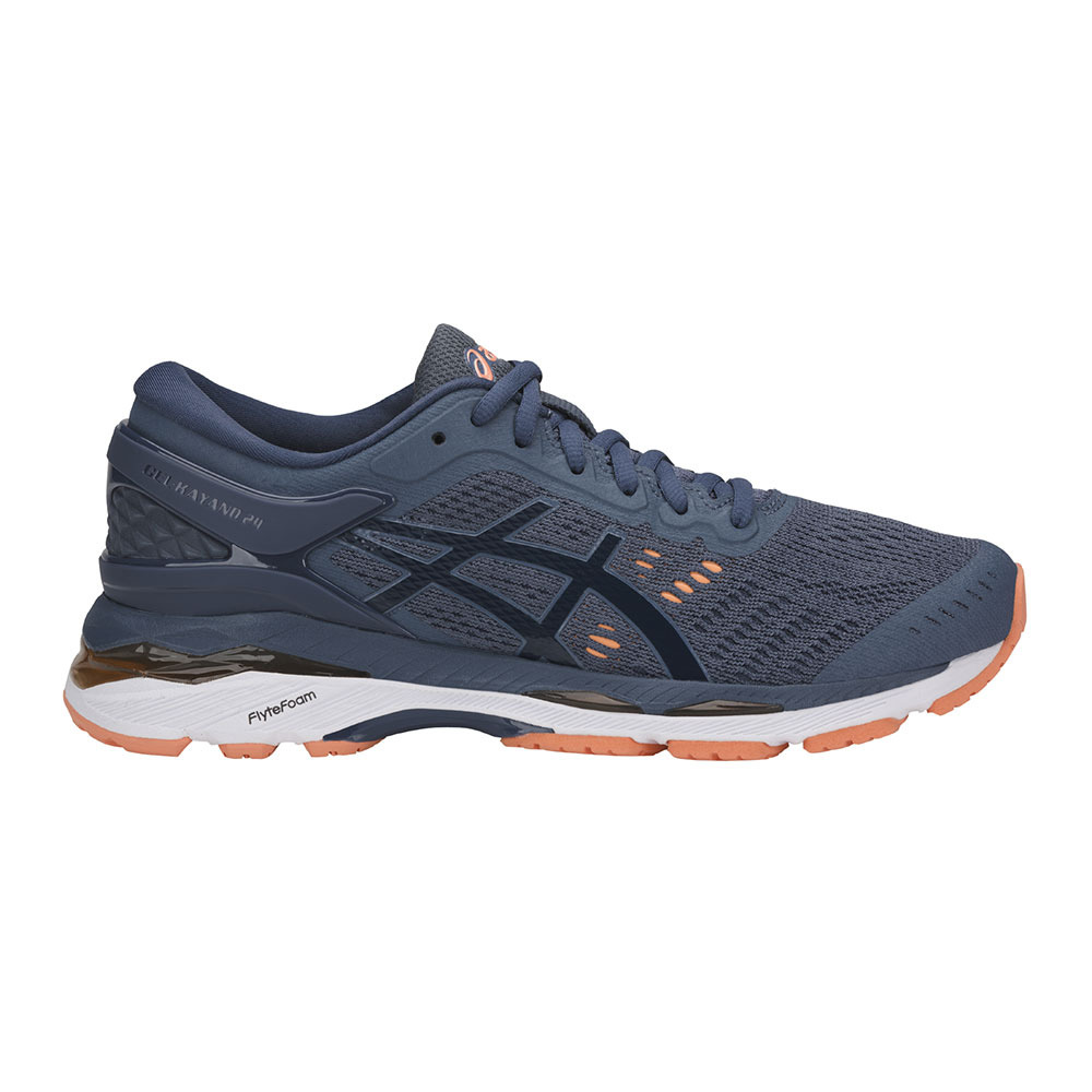 ASICS GEL KAYANO 24 - Zapatillas de running estables - smoke blue/dark blue/canteloup Offres À Bas Prix Footlocker Réduction Finishline Paiement Sans Visa D'expédition Réduction De Sortie yd6a5