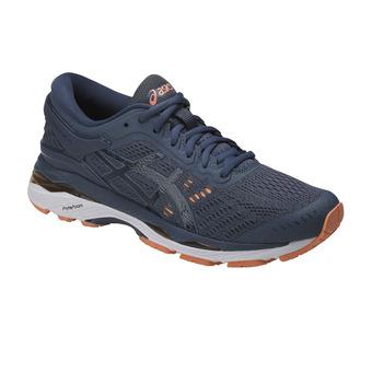 Zapatillas de running mujer GEL-KAYANO 24 smoke blue/dark blue/canteloupe