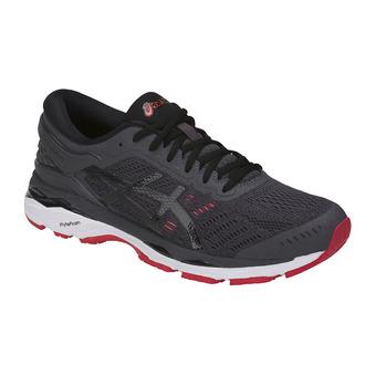 Zapatillas de running hombre GEL-KAYANO 24 dark grey/black/fiery red