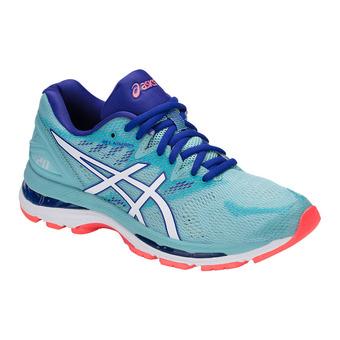 Chaussures running femme GEL-NIMBUS 20 porcelain blue/white/asics blue
