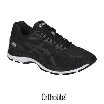 Chaussures running homme GEL-NIMBUS 20 black/white/carbon
