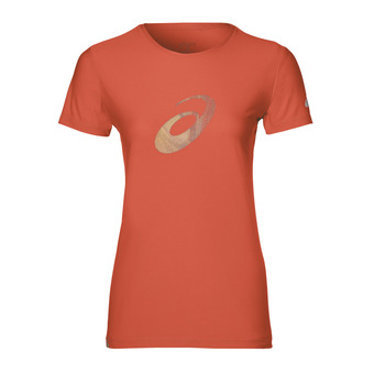 Asics GRAPHIC - Jersey - Women's - coralicious