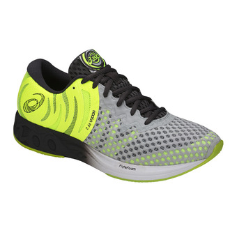 Asics NOOSA FF 2 - Chaussures triathlon Homme glacier grey/dark grey/safety yellow