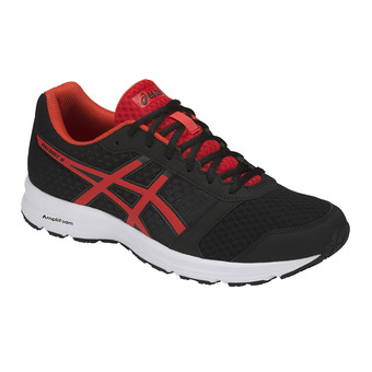 Chaussures running homme PATRIOT 9 black/fiery red/white