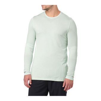 Asics SEAMLESS - Camiseta hombre sprout green heather