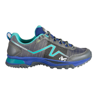 Millet OUT RUSH - Zapatillas de trail mujer purple blue/pool blue