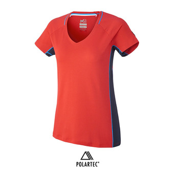 Camiseta mujer TRILOGY DELTA red/saphir