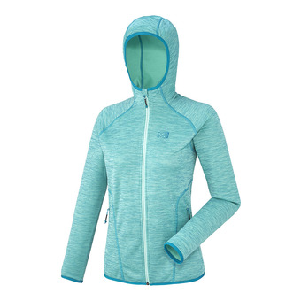 Polaire femme TWEEDY MOUNTAIN HD pool blue