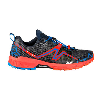 Zapatillas de trail LIGHT RUSH orange/electric blue