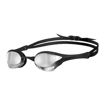 Arena COBRA ULTRA MIRROR - Gafas de natación silver black/black