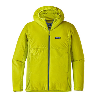 Anorak hombre NANO AIR LIGHT HYBRID light gecko green