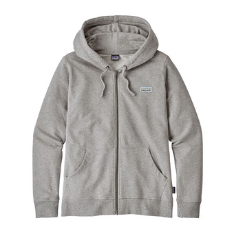 Sudadera mujer PASTEL P-6 LABEL MW feather grey