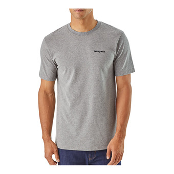 Patagonia P-6 LOGO RESPONSIBILI - T-Shirt - Men's - gravel heather