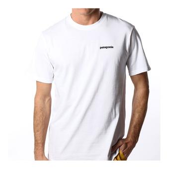 Patagonia P-6 LOGO RESP - Tee-shirt Homme white