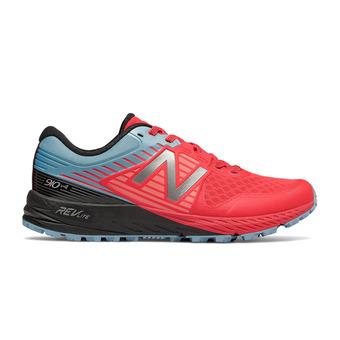 Chaussures de trail femme 910 V4 coral/blue