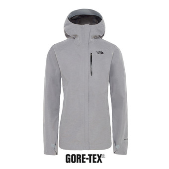 Veste à capuche Gore-Tex® femme DRYZZLE tnf medium grey heather