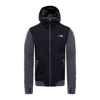 Veste à capuche homme KILOWATT VARSITY tnf black/asphalt grey
