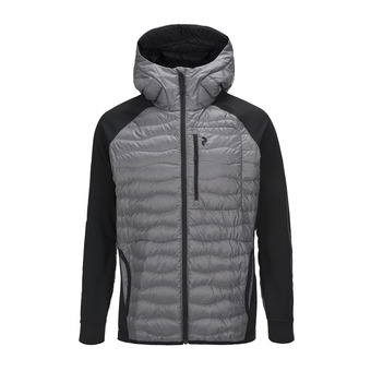 Peak Performance HELIUM HYBRID - Chaqueta hombre heather grey