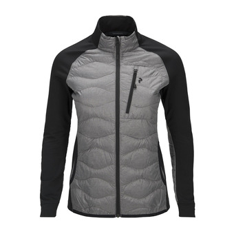 Peak Performance HELIUM - Hybrid Jacket - Femme grey melange