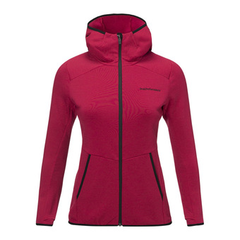 Peak Performance HELO - Giacca Donna true pink