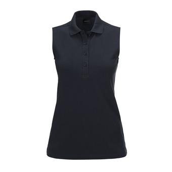 Sleeveless Polo - Women's - CL PIQUE salute blue