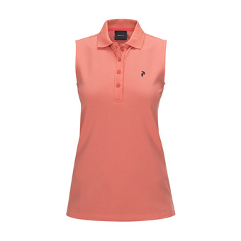 Peak Performance CL PIQUE - Polo Donna digital pink