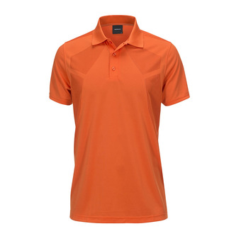 Polo MC homme MAP orange flow