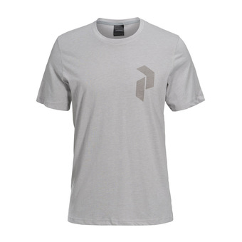 Peak Performance TRACK - Camiseta hombre med heather grey