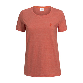 Peak Performance TRACK - Tee-shirt Femme orange flow
