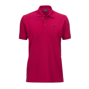Polo MC homme CLASSIC true pink