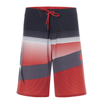 Boardshort homme GNARLY WAVE red line