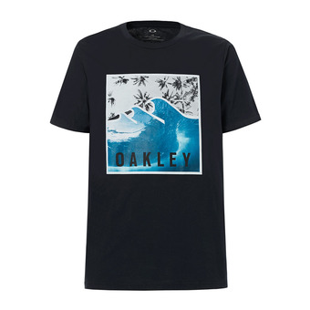 Tee-shirt MC homme 50-PALM WAVES blackout