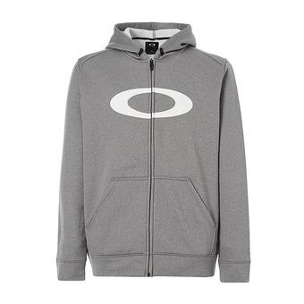 Sweat à capuche zippé homme 360 athletic heather grey