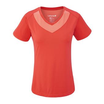 Camiseta mujer TRACK poppy
