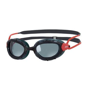 Zoggs PREDATOR - Lunettes de natation polarisées black/red/smoke