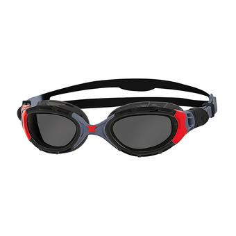 Gafas de natación polarizadas PREDATOR FLEX black/red/smoke