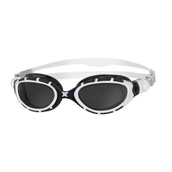 Zoggs PREDATOR FLEX - Occhialini da nuoto white/black/smoke