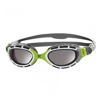 Zoggs PREDATOR FLEX - Lunettes de natation grey/green/titanium