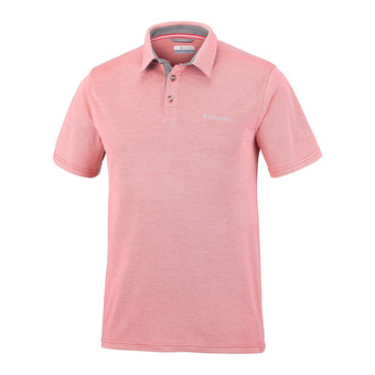 Polo MC homme NELSON POINT red spark