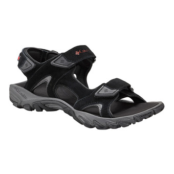 Sandalias hombre SANTIAM™ 3 STRAP black/mountain red