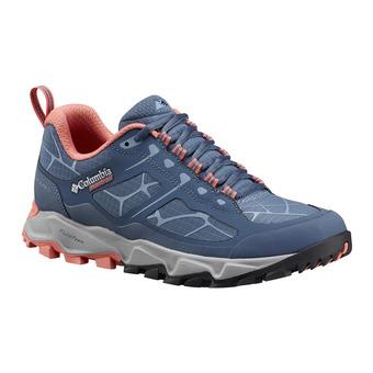 Zapatillas trail mujer TRANS ALPS II steel/melonade