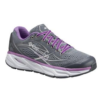 Columbia VARIANT X.S.R. - Zapatillas de running mujer grey ash/phantom purple