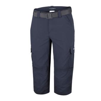 Columbia SILVER RIDGE II - Cropped Pants - Men's - abyss