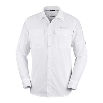 Chemise ML - Silver Ridge II Long Sleeve Shirt Men White