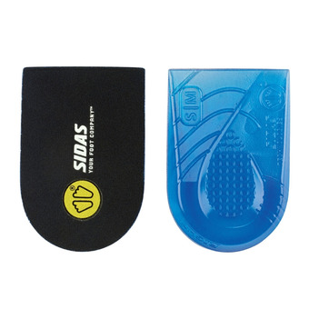 Pair of Heel Gel Pads - BONE SPUR PAD black/blue